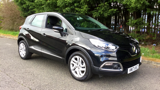 RENAULT CAPTUR DYNAMIQUE NAV TCE HATCHBACK, PETROL, in BLACK, 2017 - image 24
