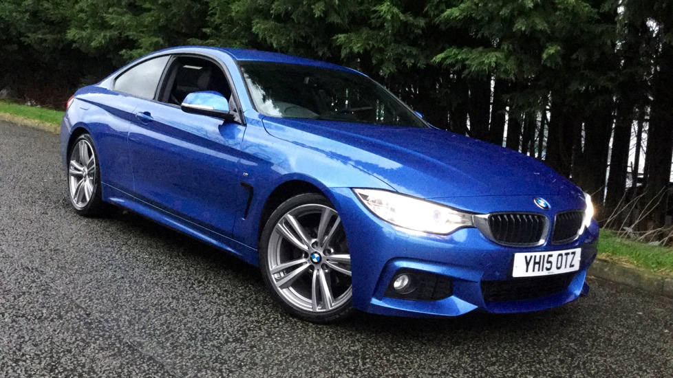 BMW 4 Series 420i M Sport 2dr 2.0 Automatic Coupe (2015) image