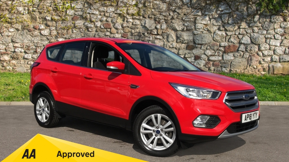 Ford Kuga 1.5 TDCi Zetec 2WD with Cruise Control and DAB Radio Diesel 5 door MPV (2018)