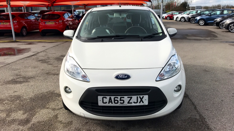 Ford Ka 1 2 Zetec White Edition 3dr Hatchback 2016 Available From