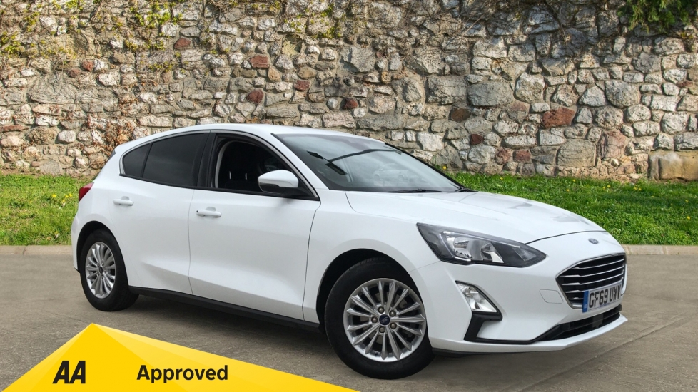 Ford Focus 1.0 EcoBoost 125 Titanium 5dr with Heated Seats and Parking Sensors Hatchback (2019)