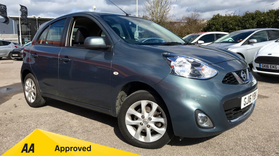 Nissan Micra 1 2 Acenta 5dr Hatchback (2016) available from Volvo Gatwick
