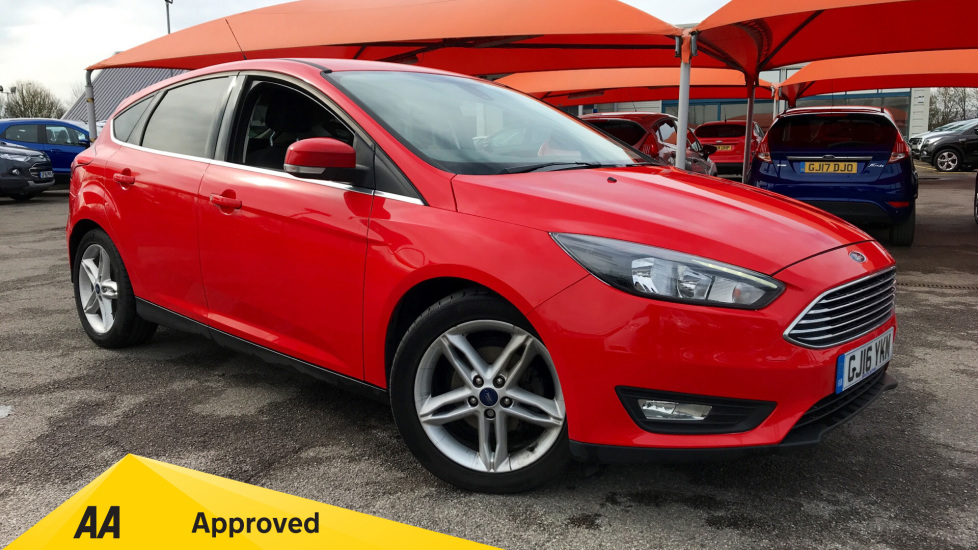 Ford Focus 1.0 EcoBoost 125 Zetec 5dr Hatchback (2016) available from Warrington Motors Fiat, Nissan and Peugeot thumbnail image