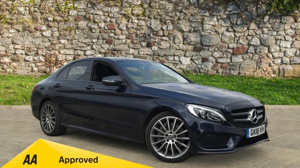 Mercedes-Benz C-Class C250d 4Matic AMG Line Premium 2.1 Diesel Automatic 4 door Saloon (2018) image