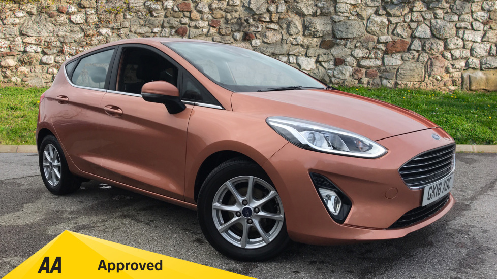 Ford Fiesta 1.0 EcoBoost Zetec B+O Play Automatic 5 door Hatchback (2018) at Ford Ashford thumbnail image