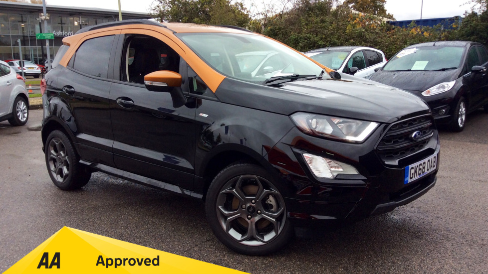 Ford EcoSport 1.0 EcoBoost 140 ST-Line 5dr Hatchback (2018) available from Bolton Motor Park Abarth, Fiat and Mazda thumbnail image