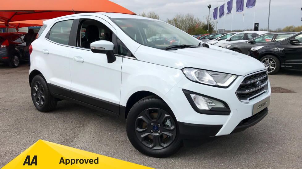 Ford EcoSport Zetec Less SVP 1.0 EcoBoost 125PS 6 Speed  5 door Hatchback (2019)