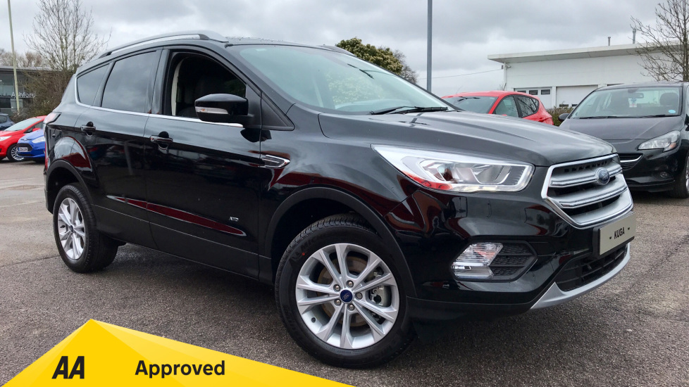 Ford Kuga Titanium 1.5L Ford EcoBoost 176PS 6 Speed AWD Automatic 5 door Hatchback (18MY)