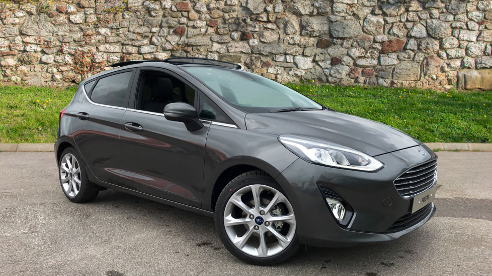 Ford Fiesta Titanium 1.0 125PS 6 Speed Manual 5 door Hatchback (2019)