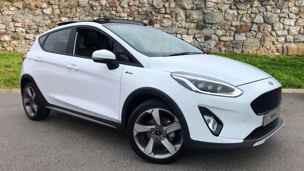 Ford Fiesta Active 1 1.0T EcoBoost 100PS Euro 6.2 6 Speed  5 door Hatchback (2019)