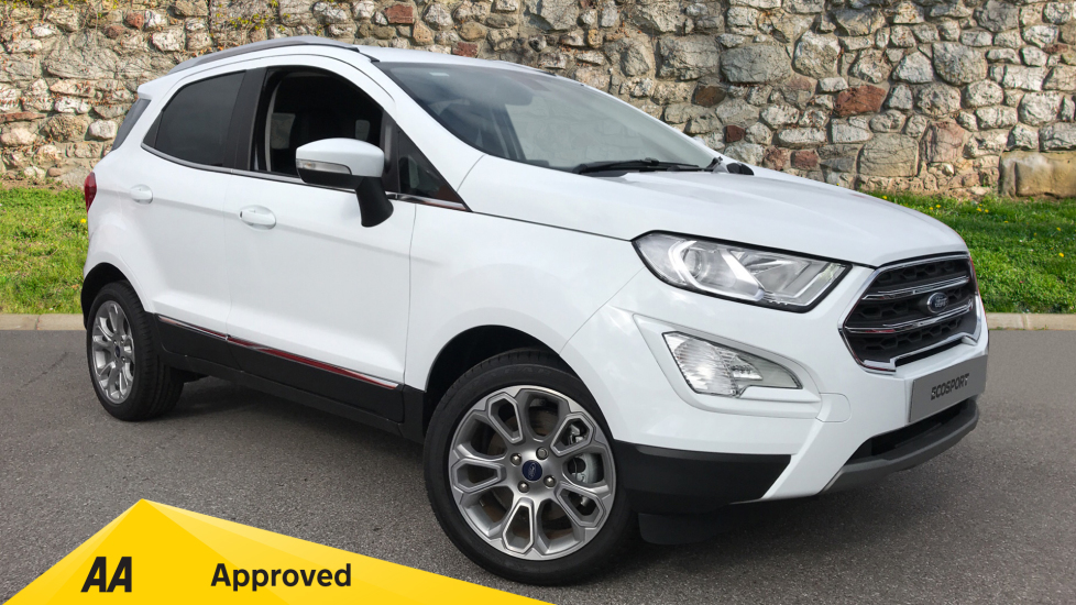 Ford EcoSport Titanium Less SVP 1.0 EcoBoost 125PS 6 Speed  5 door Hatchback (2020)