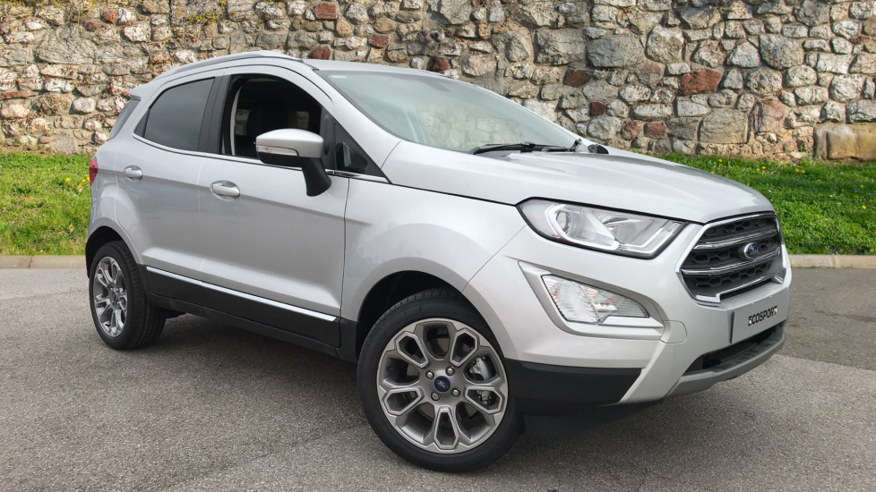 Ford EcoSport Titanium 1.0 EcoBoost 125PS 6 Speed  5 door Hatchback (2019) at Ford Ashford thumbnail image