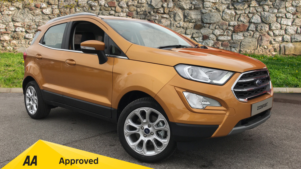 Ford EcoSport Titanium 1.0 EcoBoost 125PS 5 door Hatchback (2020)