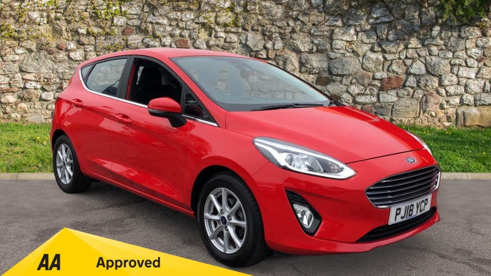 Ford Fiesta 1.1 Zetec 5dr with Navigation and DAB Radio Hatchback (2018)