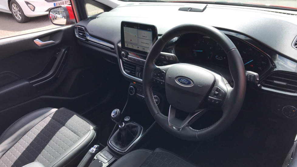 Ford Fiesta 1.0 EcoBoost 125 Titanium X 5dr - Bang and Olufsen Sound System, Rear View Camera image 12