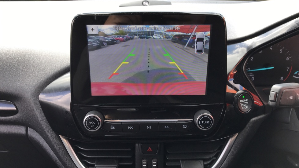 Ford Fiesta 1.0 EcoBoost 125 Titanium X 5dr - Bang and Olufsen Sound System, Rear View Camera image 15
