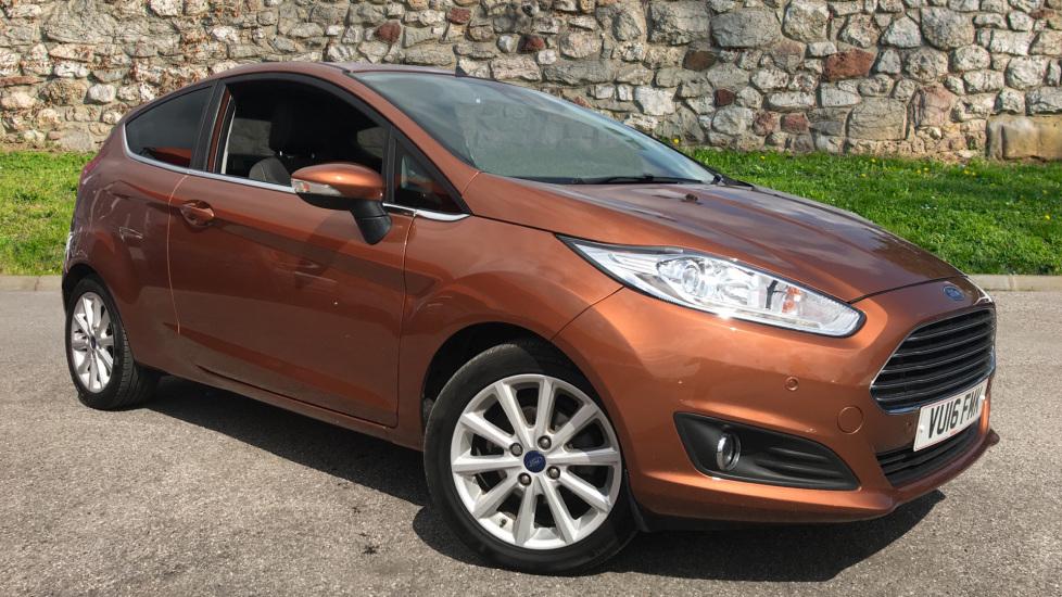 Ford Fiesta 1.0 EcoBoost Titanium [Nav] Powershift Automatic 3 door Hatchback (2016)
