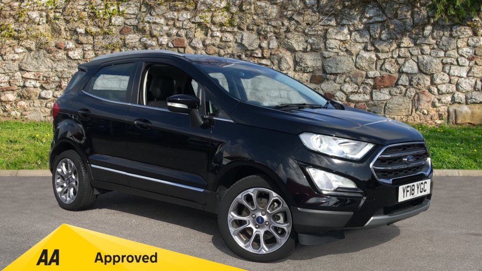 Ford EcoSport 1.0 EcoBoost 125 Titanium 5dr with Navigation and Rear Camera Automatic Hatchback (2018)