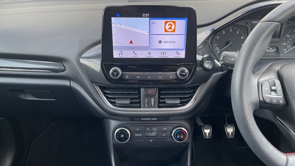 Ford Fiesta 1.0 EcoBoost ST-Line 5dr with DAB Radio and Keyless Start image 12