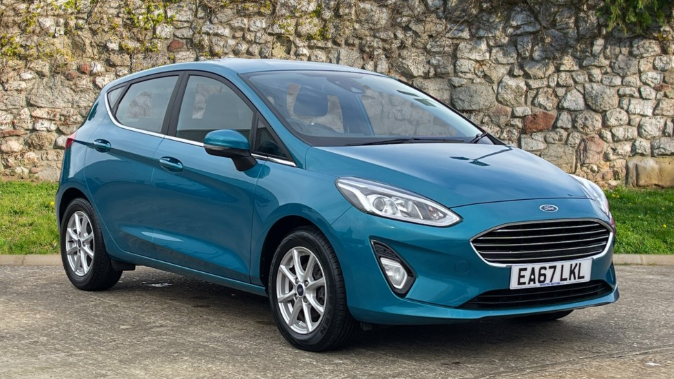 Ford Fiesta 1.0 EcoBoost Zetec 5dr with Bluetooth and DAB Radio Hatchback (2017)