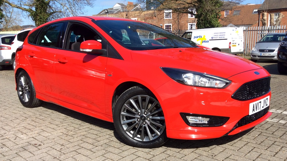 Ford Focus 1.5 EcoBoost ST-Line 5dr Hatchback (2017) at Ford Canterbury thumbnail image