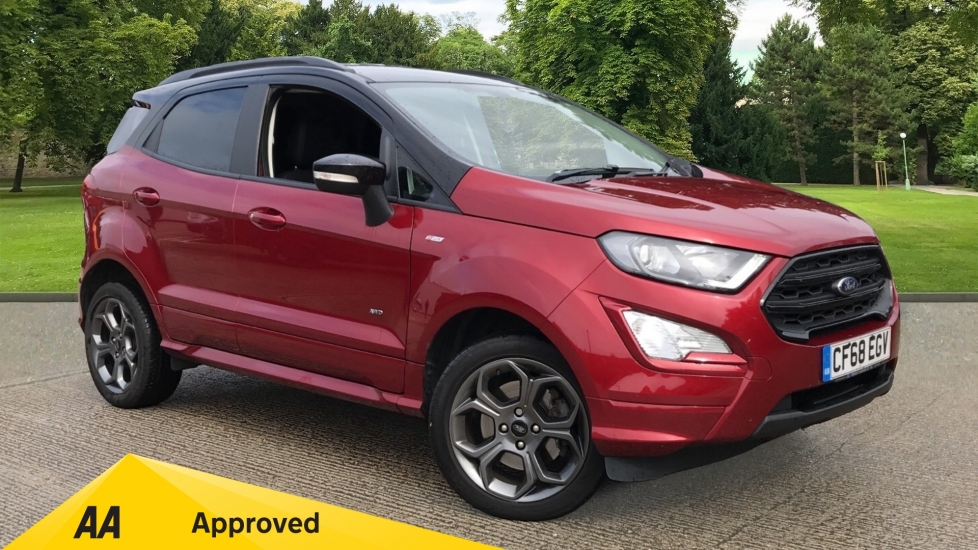 Ford EcoSport 1.5 EcoBlue 125 ST-Line AWD with Navigation and Reverse Camera Diesel 5 door Hatchback (2018)