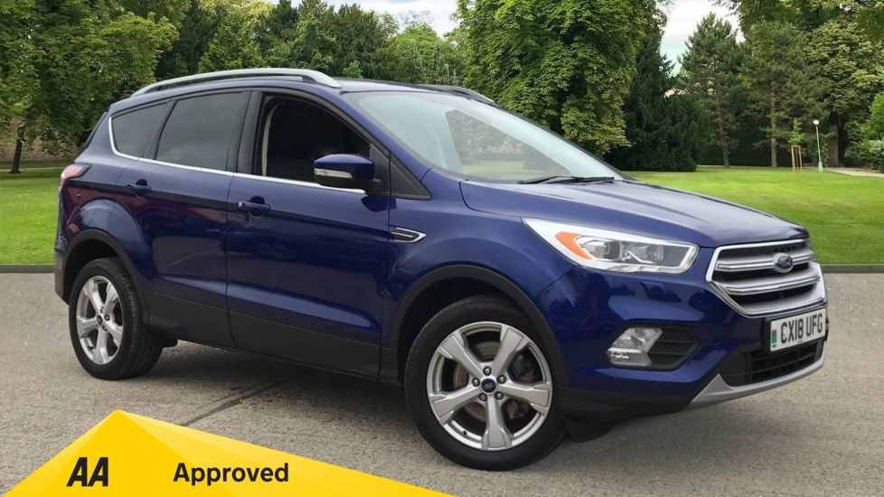 Ford Kuga 2.0 TDCi Titanium X 2WD with Panoramic Sunroof and Heated Seats Diesel 5 door MPV (2018)