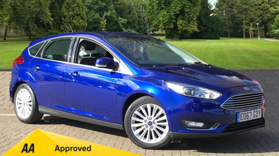 Ford Focus 1.0 EcoBoost 125 Titanium X 5dr Hatchback (2017)