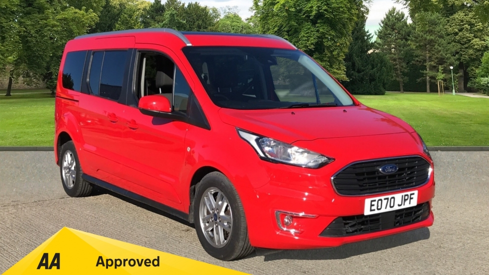 Ford Grand Tourneo Connect 1.5 EcoBlue 120 Titanium Powershift with Panoramic Sunroof and Rear Parking Sensors Diesel Automatic 5 door Estate (2020) image