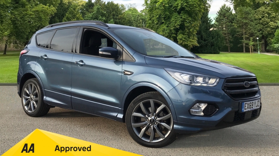 Ford Kuga 2.0 TDCi 180 ST-Line with Panoramic Sunroof, Sony Audio and Active City Stop Diesel Automatic 5 door Estate (2019)