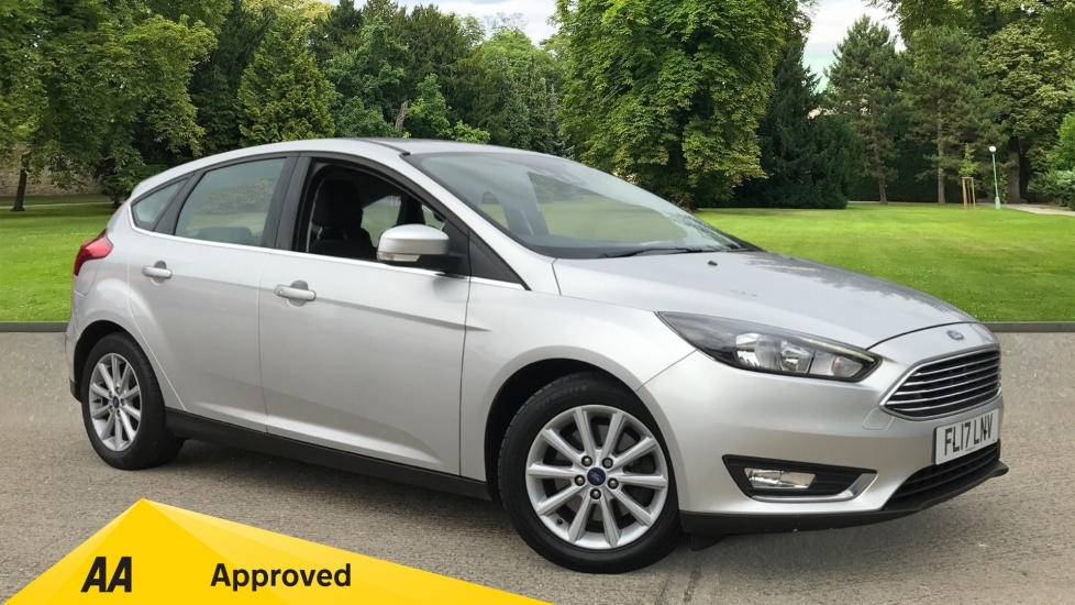 Ford Focus 1.5 EcoBoost Titanium with Cruise Control and DAB Radio Automatic 5 door Hatchback (2017)