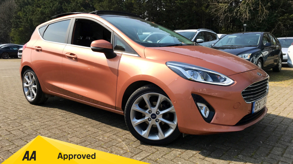 Ford Fiesta 1.0 EcoBoost Titanium B+O Play Automatic 5 door Hatchback (2017)