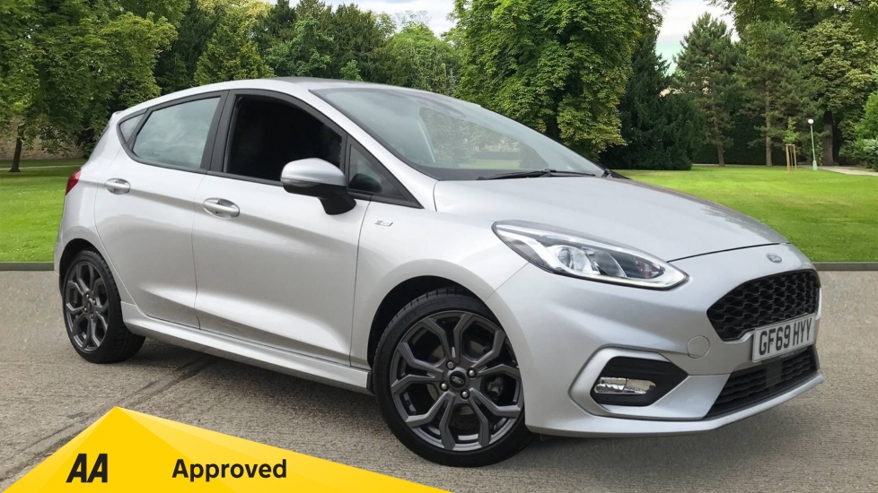 Ford Fiesta 1.0 EcoBoost ST-Line 5dr with DAB Radio and Keyless Start image 1