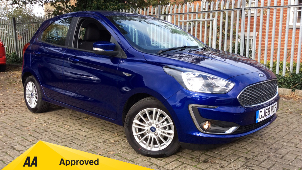 Ford KA Plus 1.2 85 Zetec 5dr Hatchback (2018) available from Ford Ashford thumbnail image