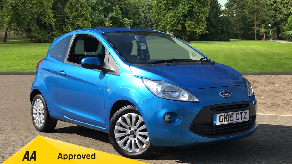 Ford Ka 1.2 Zetec [Start Stop] 3 door Hatchback (2015)