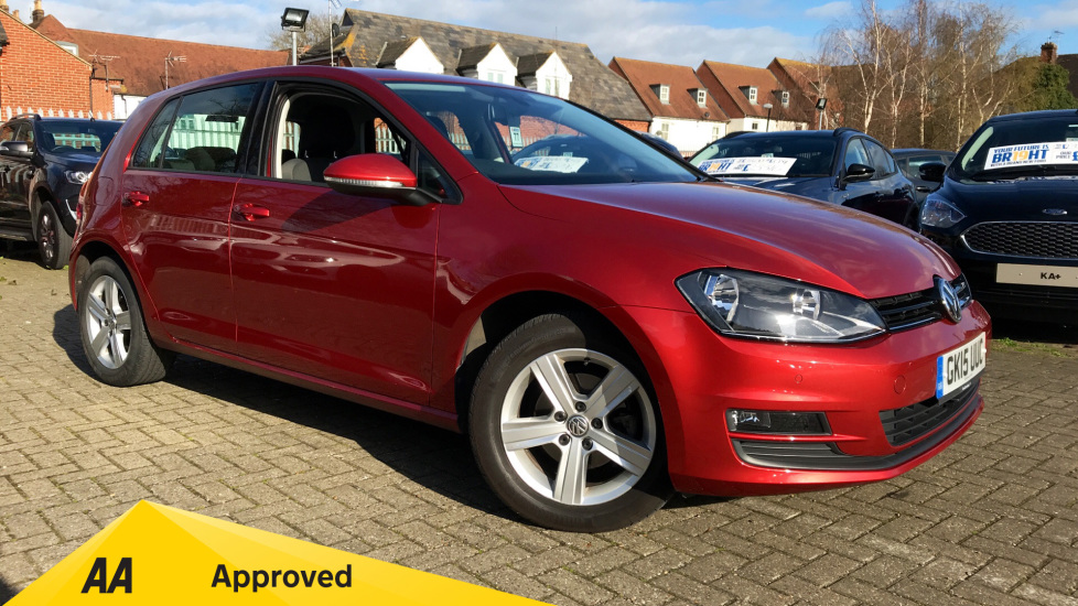 Volkswagen Golf 1.6 TDI 105 Match DSG Diesel Automatic 5 door Hatchback (2015) image