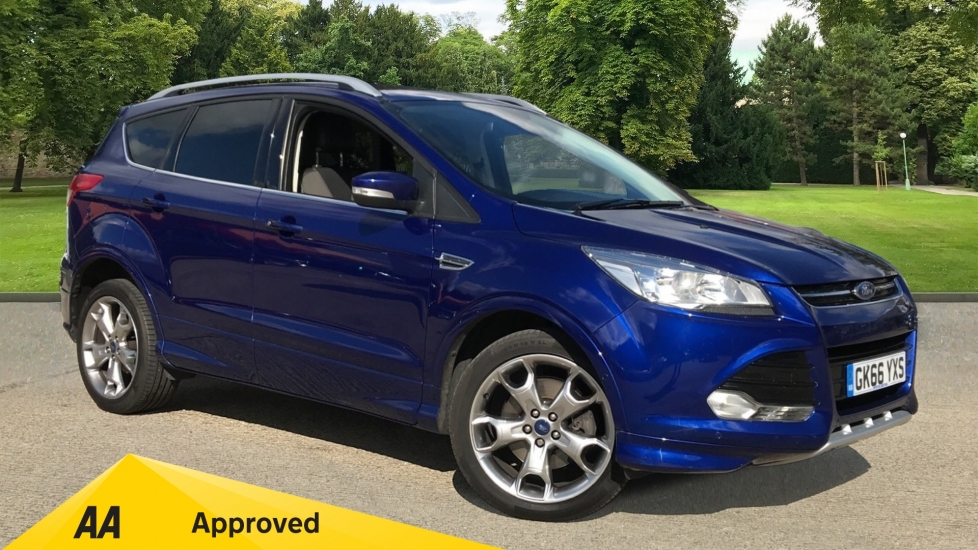 Ford Kuga 2.0 TDCi 150 Titanium Sport 2WD with Cruise Control and Navigation Diesel 5 door Estate (2016)