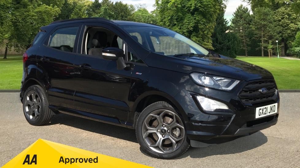 Ford EcoSport 1.0 EcoBoost 140 ST-Line 5dr with Navigation and Reverse Camera Hatchback (2021)