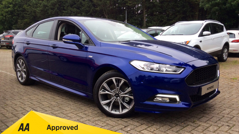 Ford Mondeo 2.0 TDCi 210 ST-Line X Powershift Diesel Automatic 5 door Hatchback (2018) at Ford Ashford thumbnail image