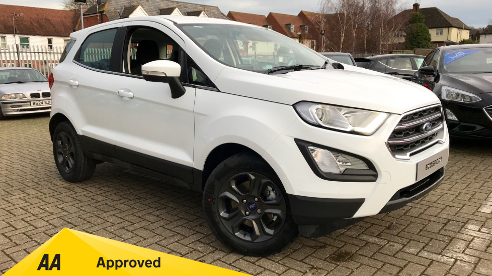 Ford EcoSport Zetec Less SVP 1.0 EcoBoost 100PS 6 Speed  5 door Hatchback (2019)
