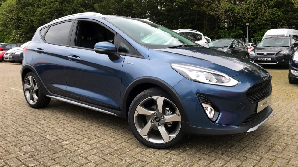Ford Fiesta Active 1 1.0T EcoBoost 125PS with Start/Stop 6 Speed  5 door Hatchback (2019)