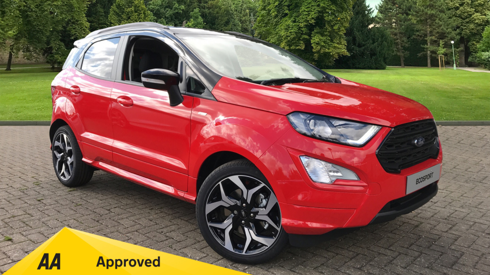 Ford EcoSport ST-Line Less SVP 1.0 EcoBoost 125PS 6 Speed  5 door Hatchback (2019)