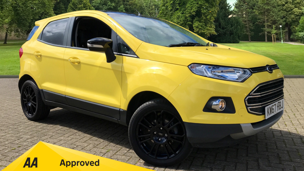 Ford EcoSport 1.0 EcoBoost Titanium S 5dr Hatchback (2017) available from Preston Motor Park Fiat and Volvo thumbnail image