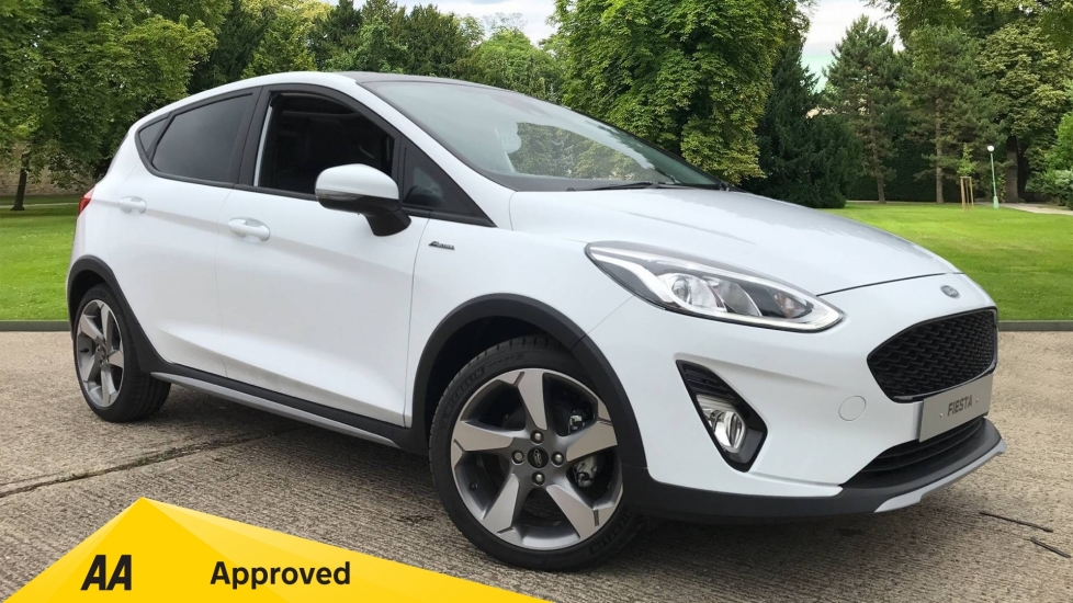 Ford Fiesta 1.0 EcoBoost 140 Active X 5dr Hatchback (2020) at Ford Canterbury thumbnail image