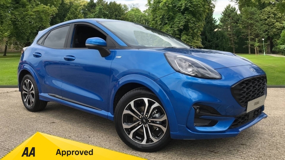 Ford New Puma ST-Line 1.0L Ford EcoBoost Hybrid mHEV 125PS 6 Speed  5 door Hatchback (2020)