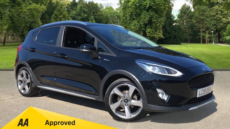 Ford Fiesta 1.0 EcoBoost 125 Active X 5dr with Navigation and Cruise Control Hatchback (2019)