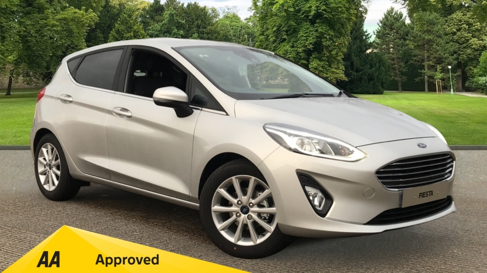 Ford Fiesta Titanium 1.0L EcoBoost Hybrid 125PS 6 Speed   5 door Hatchback