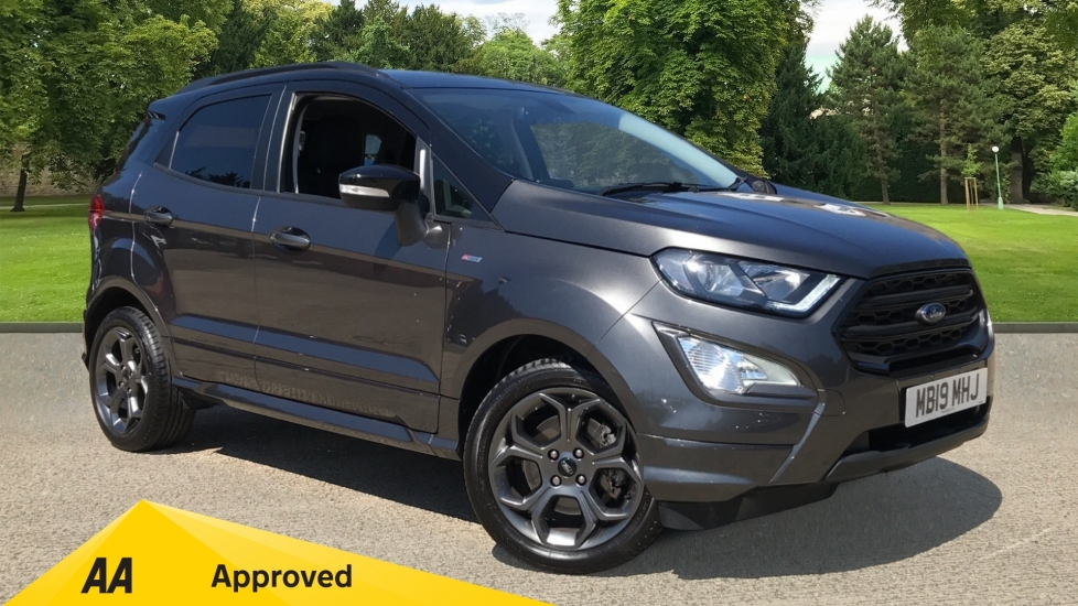 Ford EcoSport 1.0 EcoBoost 125 ST-Line with Navigation and Reverse Camera Automatic 5 door Hatchback (2019) image