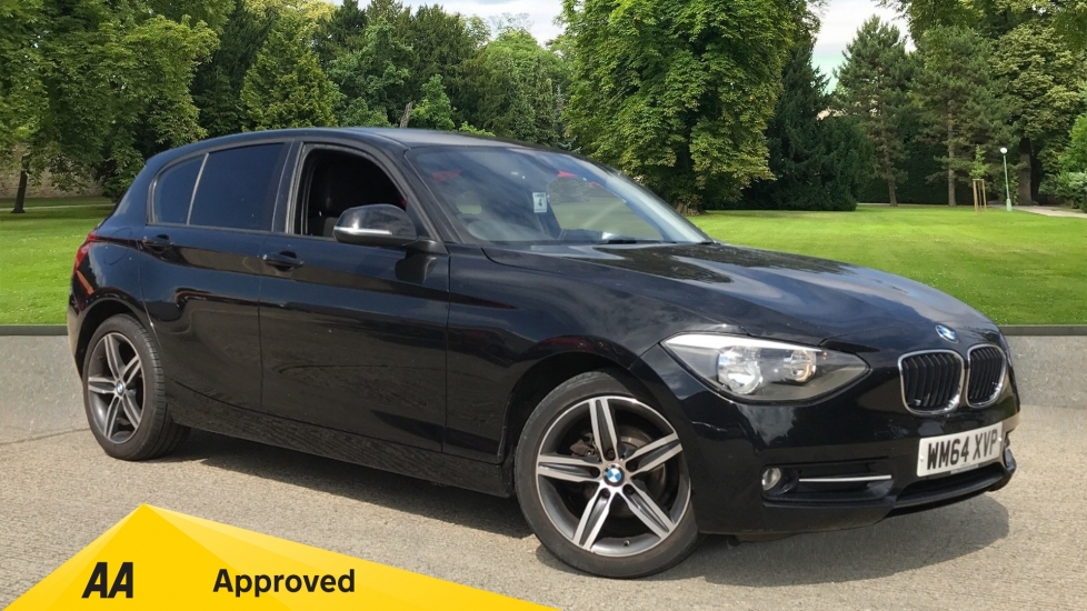BMW 1 Series 116d Sport 5dr with Rear Parking Sensors and DAB Radio 2.0 Diesel Hatchback (2015)