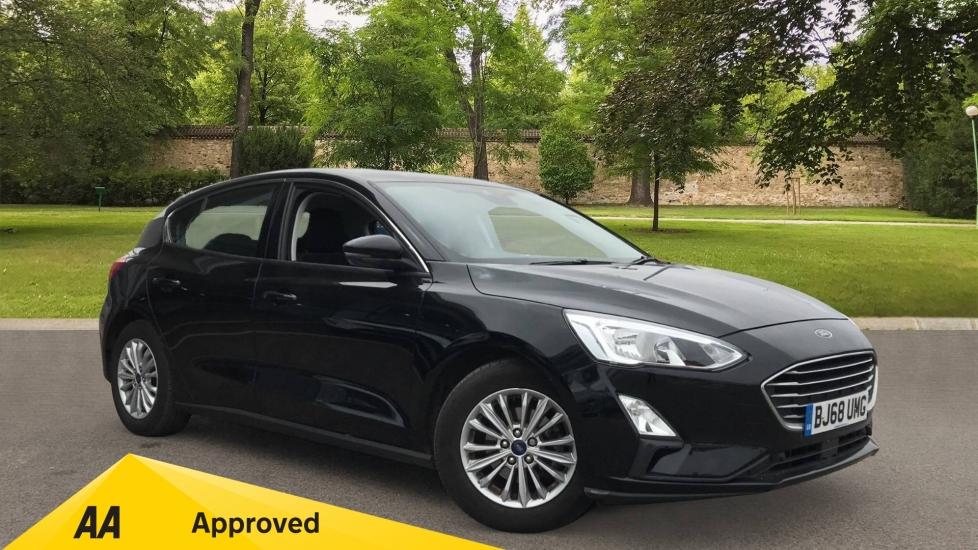 Ford Focus 1.0 EcoBoost 125 Titanium 5dr with Navigation and Parking Sensors Hatchback (2018)